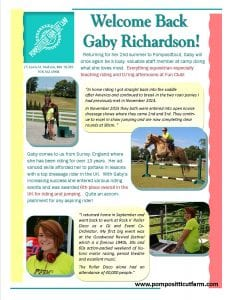 Gaby Richardson 2016